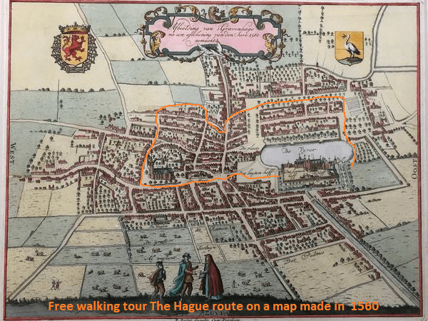 The route we walk in 1560